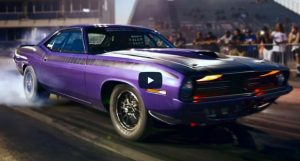 all motor plymouth cuda 528 hemi drag racing