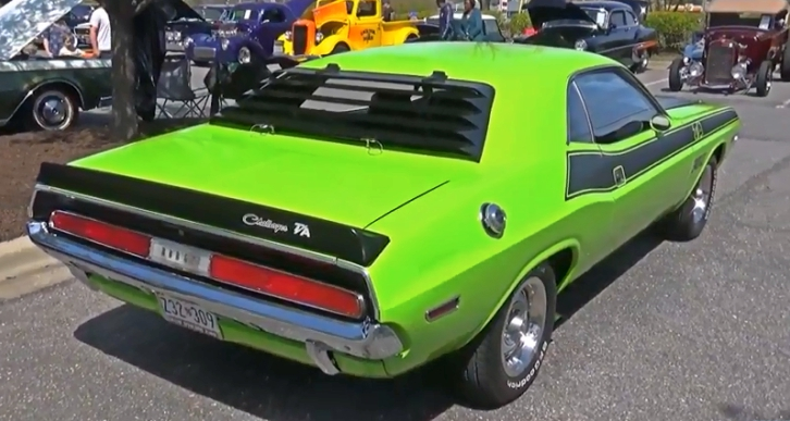 1970 dodge challenger t/a package