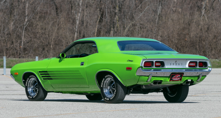 1972 dodge challenger 440 restored