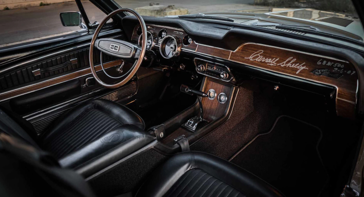 numbers matching 1968 mustang shelby gt500