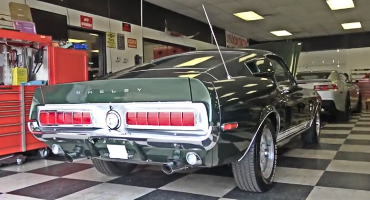 all original 1968 shelby mustang 302 4 speed