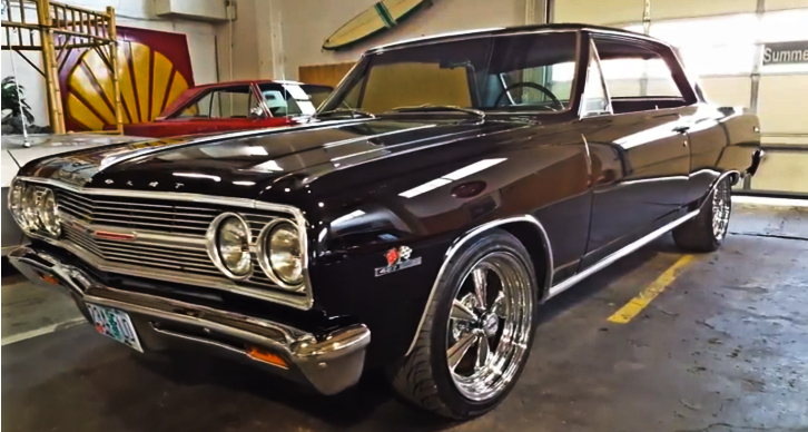 1965 chevy malibu 427 5 speed