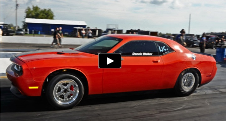 dennis walker dodge challenger drag racing