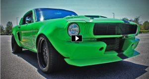 venomous 1965 mustang fastback widebody conversion
