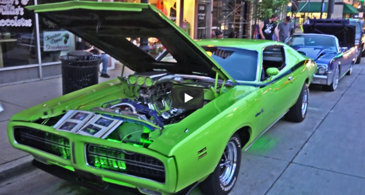 1971 dodge charger rt 440 build
