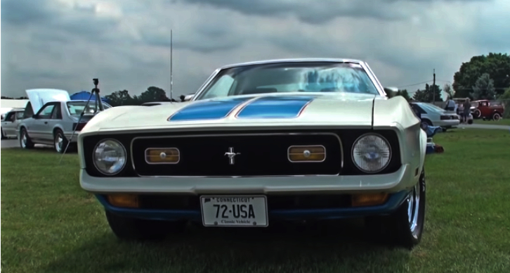 1972 ford mustang usa sprint restored