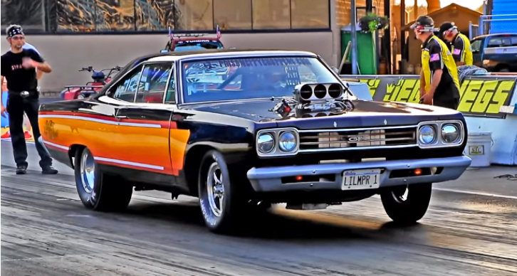 garage squad 1969 plymouth hemi gtx drag racing