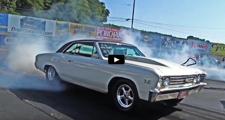 1967 chevelle drag racing at menards chevy 2018