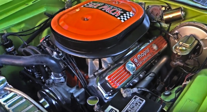Beefed Up 1970 Dodge Challenger R  T 440 Six Pack