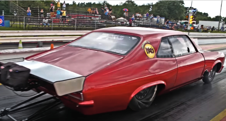ricky cribb drag racing chevy nova