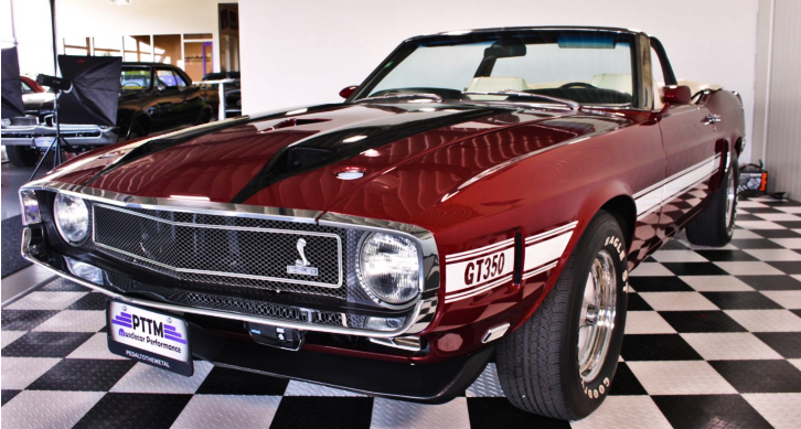 convertible 1970 shelby gt350 restored