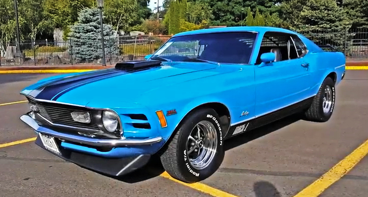 1970 mustang mach 1 351 cleveland v8