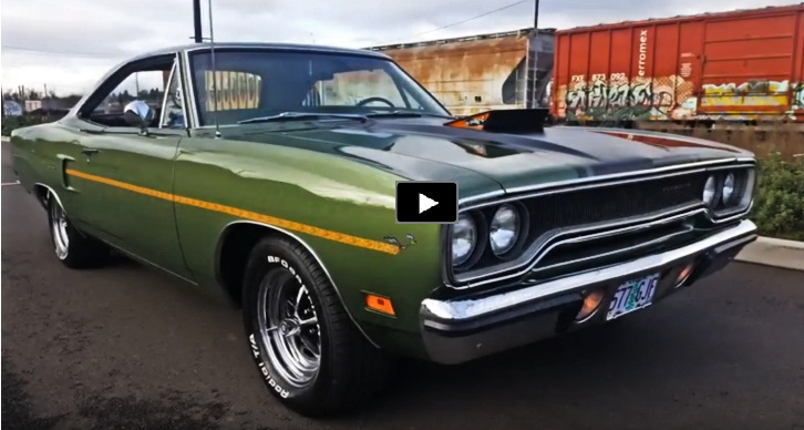 1970 plymouth road runner 383 build