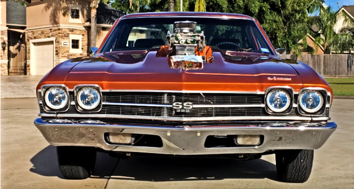 blown 1969 chevy el camino ss build