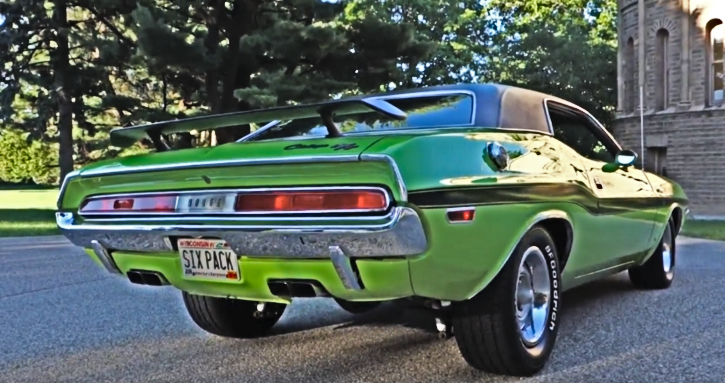 1970 dodge challenger 440 six pack