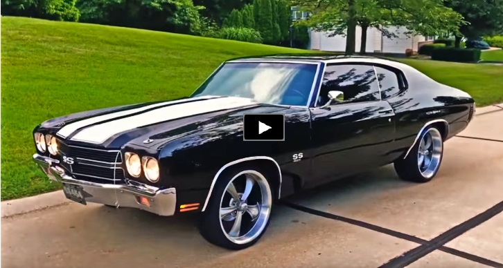 custom 1970 chevrolet chevelle ss big block