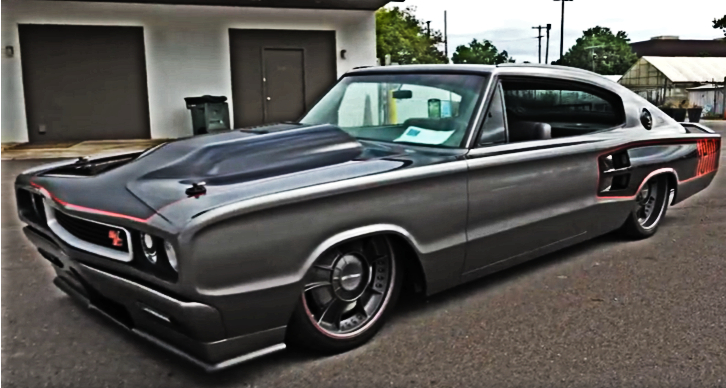 1966 dodge hemi super charger