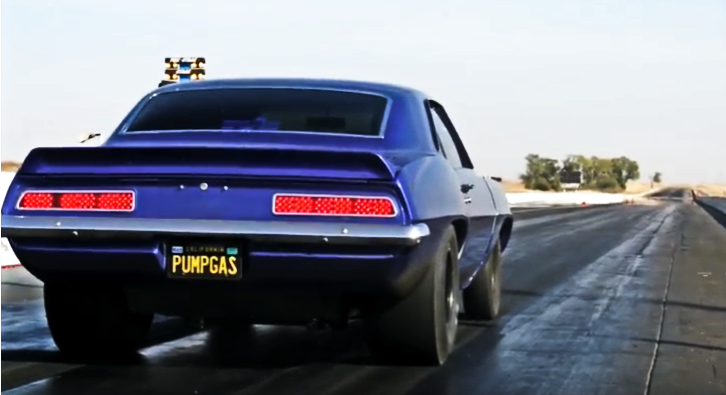 See This Evil Procharged 1969 Camaro Drag Racing | HOT CARS