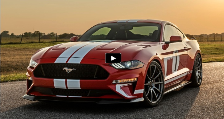 2019 mustang special edition hennessey performance