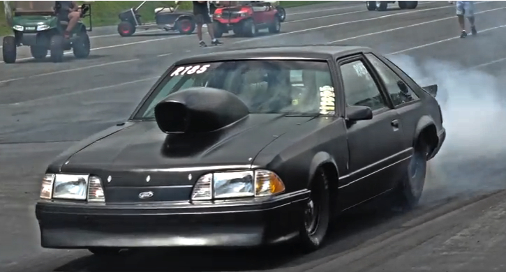 8-second pro dial fox body mustang