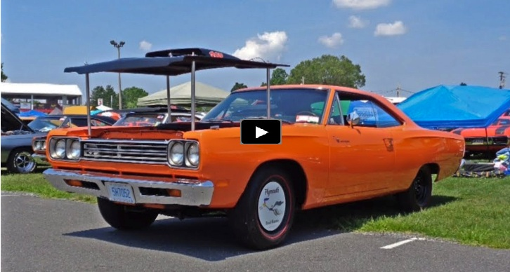 1969 1/2 plymouth road runner concourse gold winner