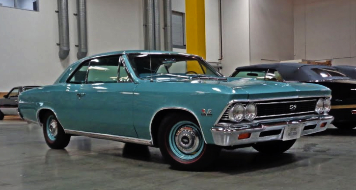 1966 chevrolet chevelle ss 427 engine