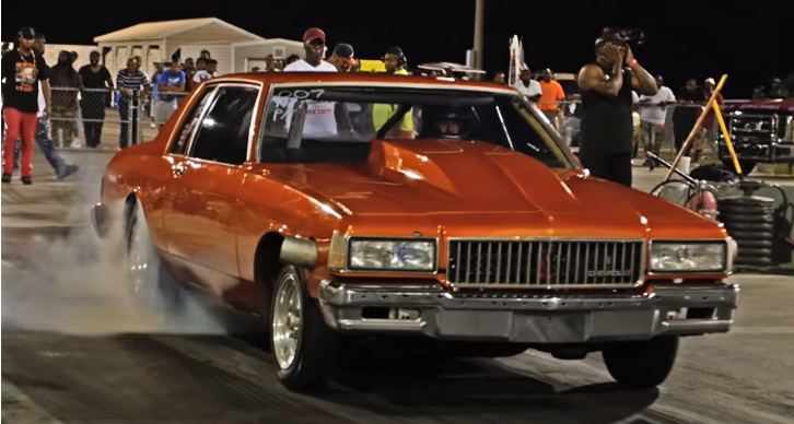 2-door chevrolet caprice drag racing