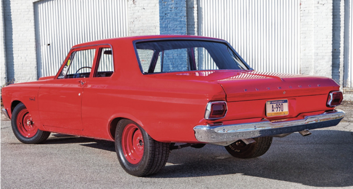 1965 plymouth super stock a990 recreation
