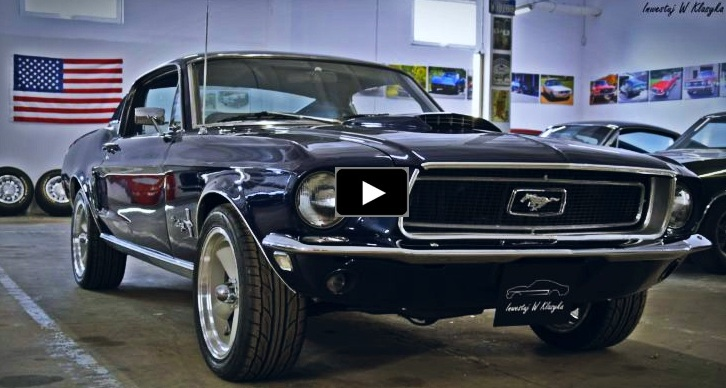 preserved 1968 mustang fastback 289