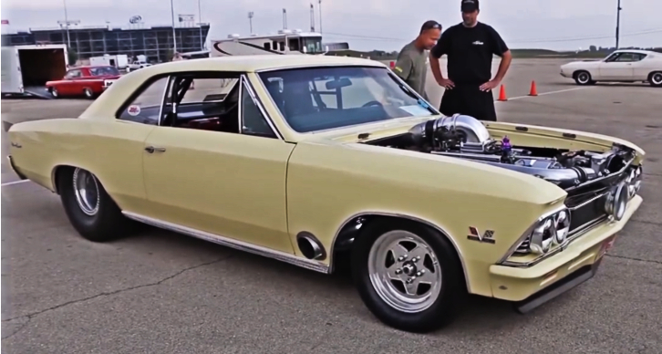procharged 1966 chevy chevelle big block