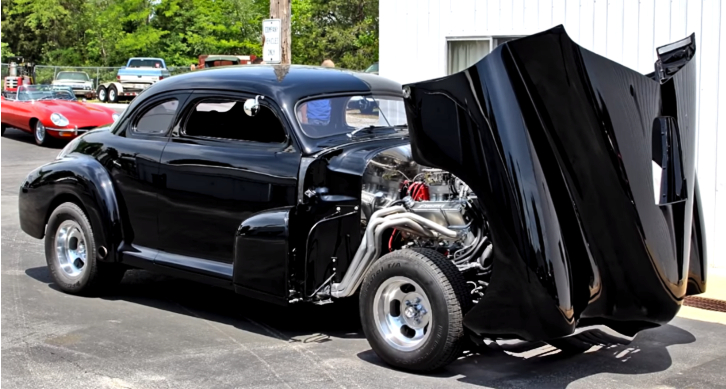 chevy hot rod burnouts
