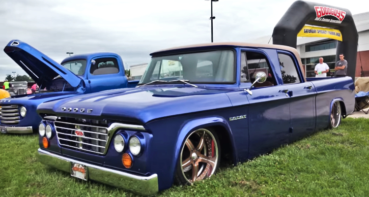 custom built dodge d100 big block truck