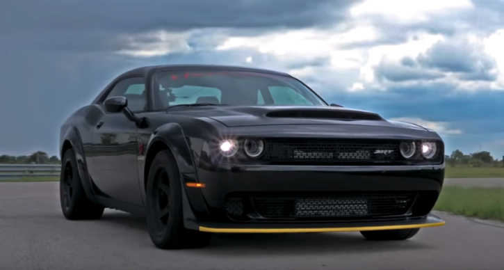 henessey performance dodge demon testing