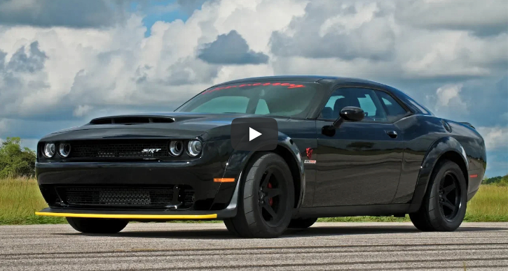 2018 dodge demon hpe1200 package testing
