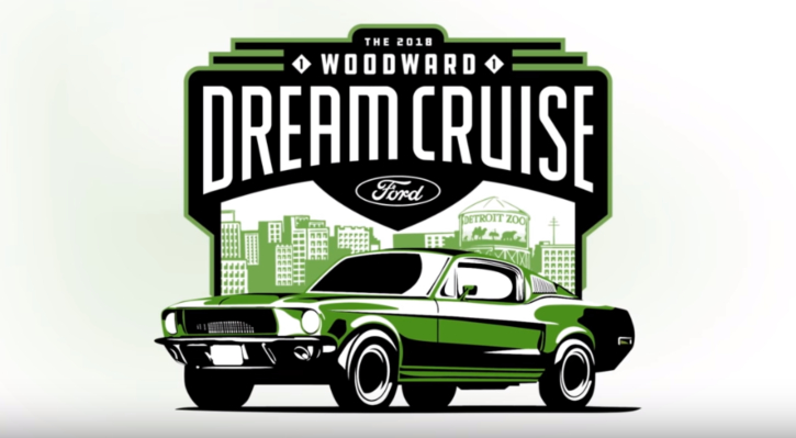 2018 woodward ford dream cruise highlights