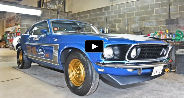 1969 ford mustang drag car barn find