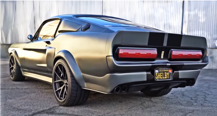 ford shelby gt500r by mag motors