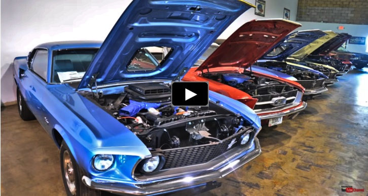 barn find ford muscle cars collection