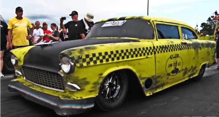 chevy killer cab drag racing