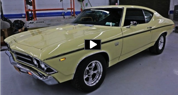 butternut yellow 1969 chevy chevelle restored