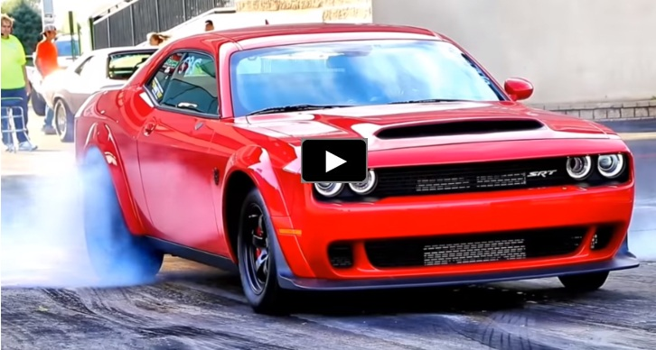 one seat dodge demon drag racing