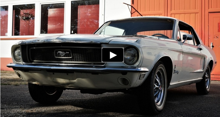 preserved 1968 mustang coupe 302 v8