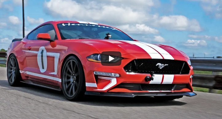 test driving hennessey 2019 mustang heritage edition