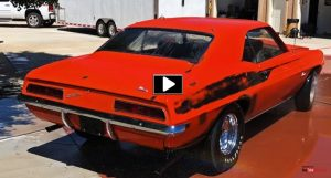 dick harrell 1969 chevrolet camaro barn find