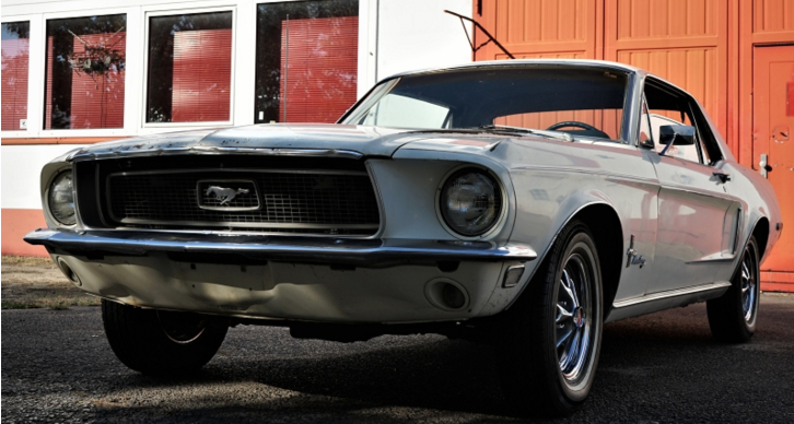 1968 ford mustang 302 v8 survivor