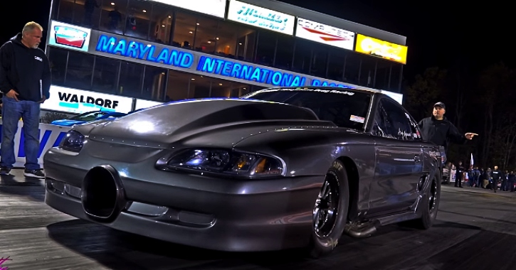 andy manson 1996 mustang drag raciing