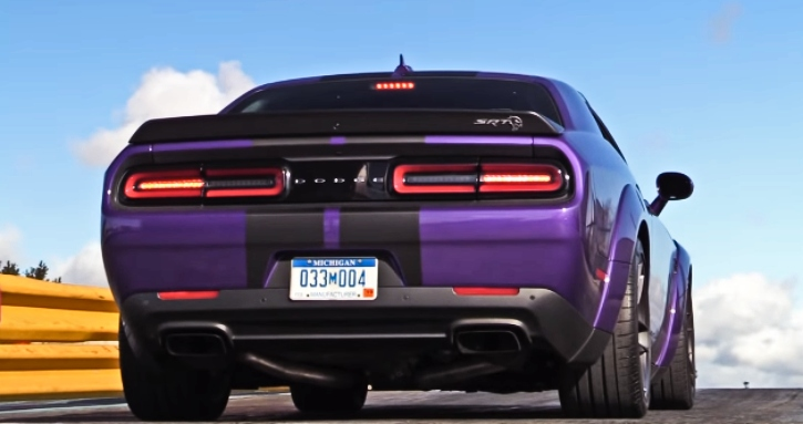dodge red eye challenger track tested