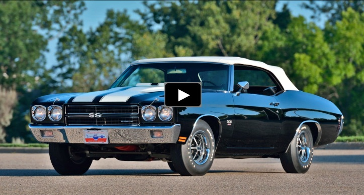 convertible 1970 chevy chevelle ls6 restored