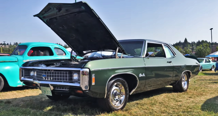 1969 chevy bel air 427 4-speed