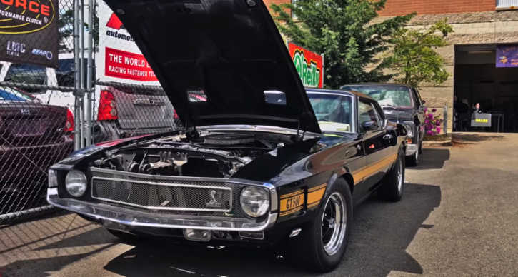 1969 ford mustang gt500 spotted
